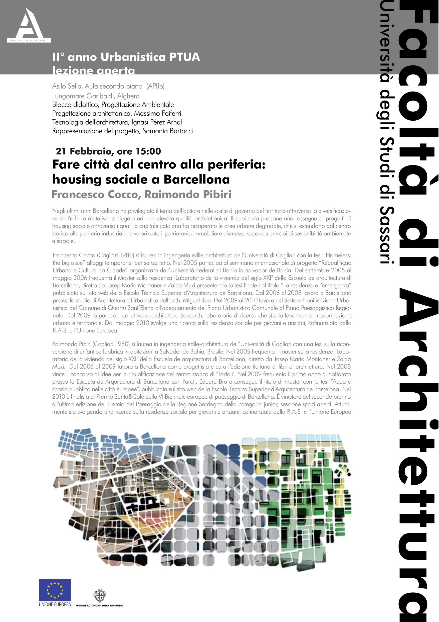 Fare città dal centro alla periferia:  housing sociale a Barcellona