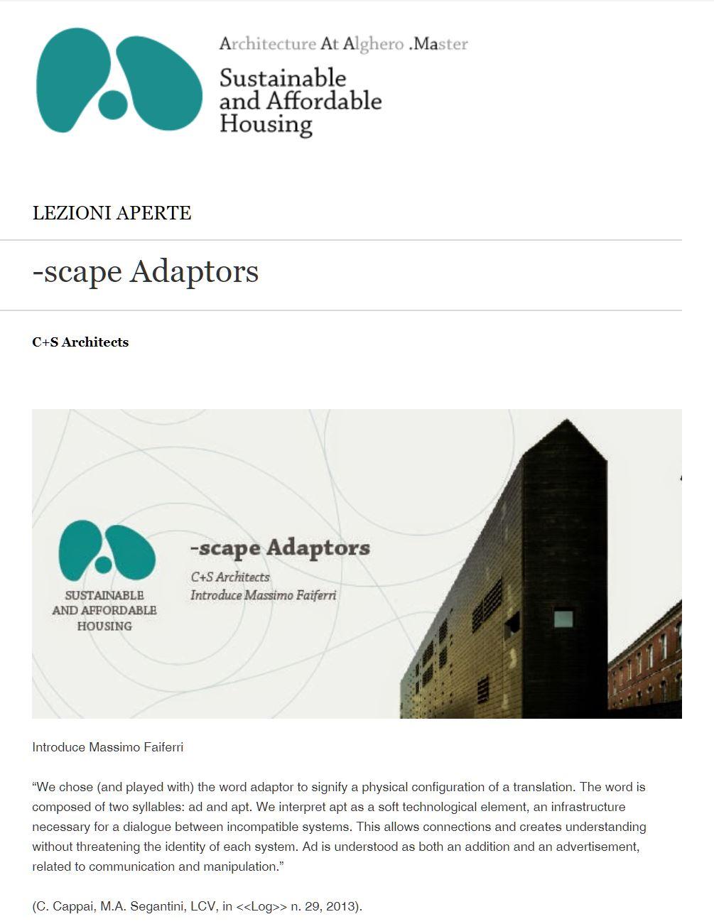-scape Adaptors