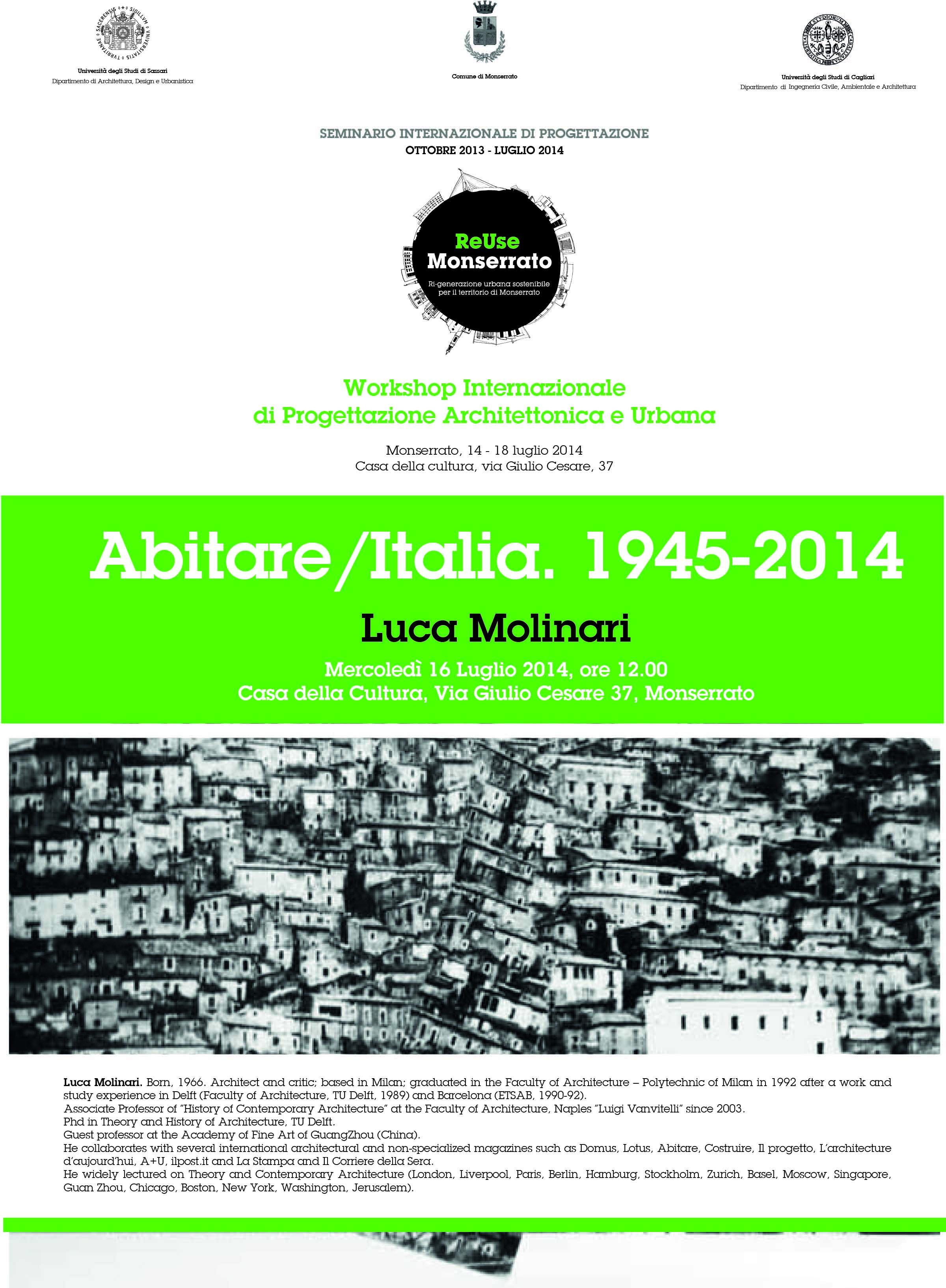 Abitare/Italia. 1945-2014