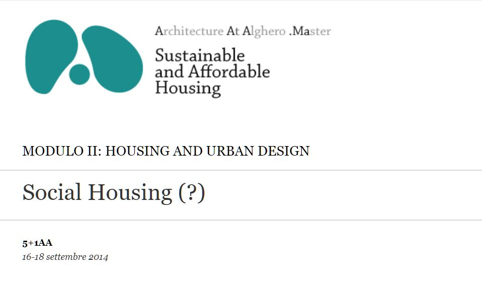 Social Housing (?)