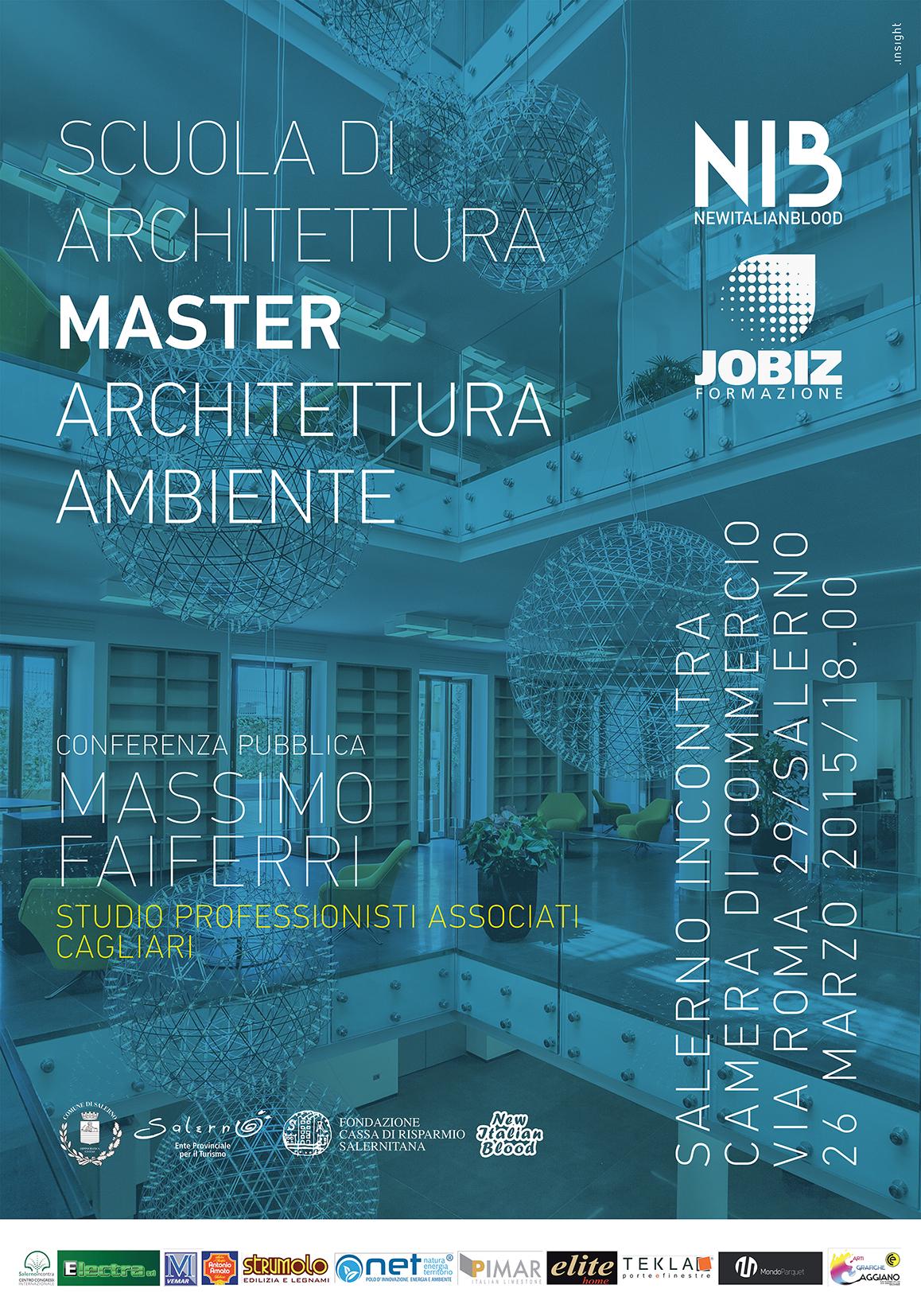Master architettura e ambiente