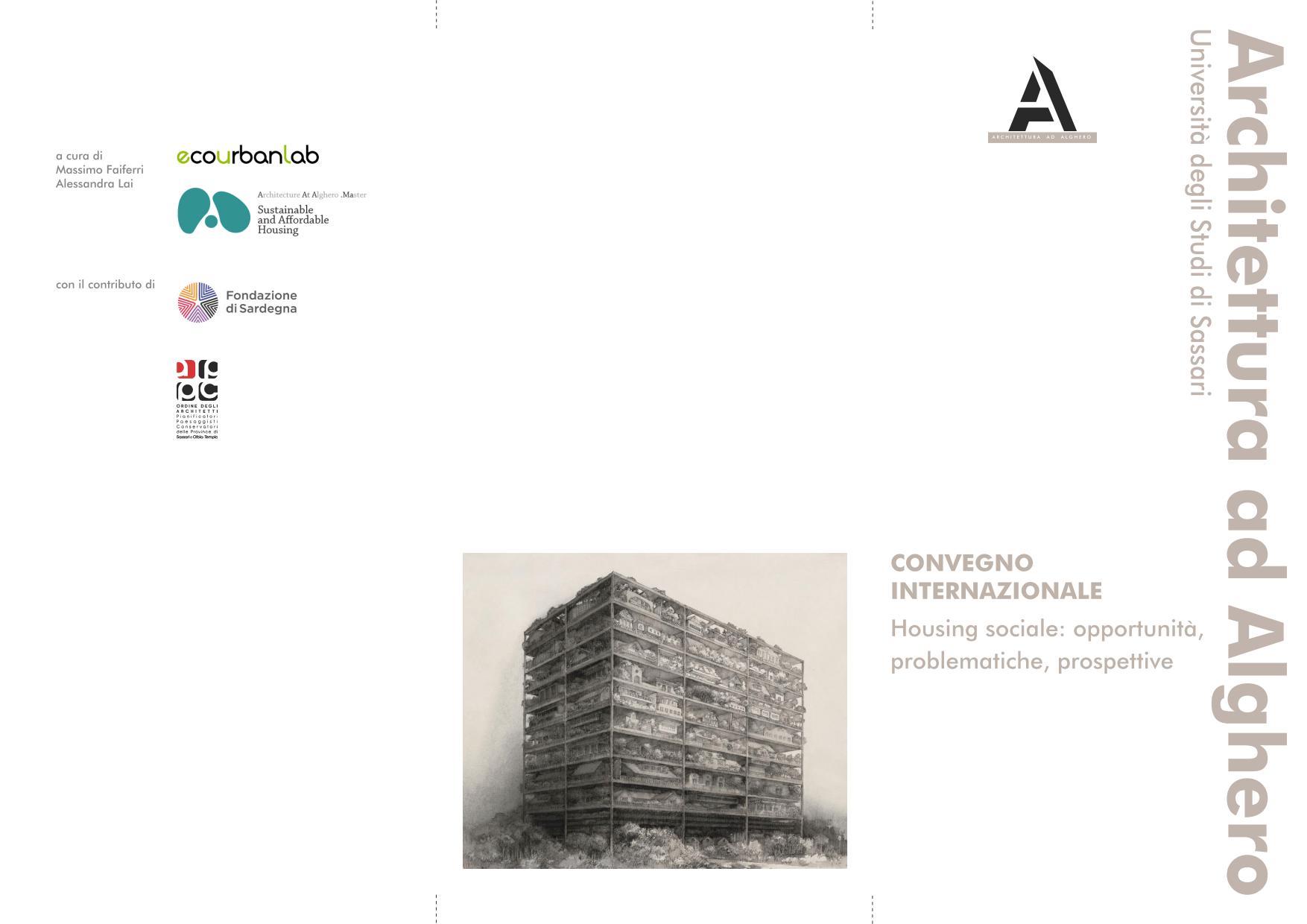 Housing sociale: opportunità, problematiche, prospettive