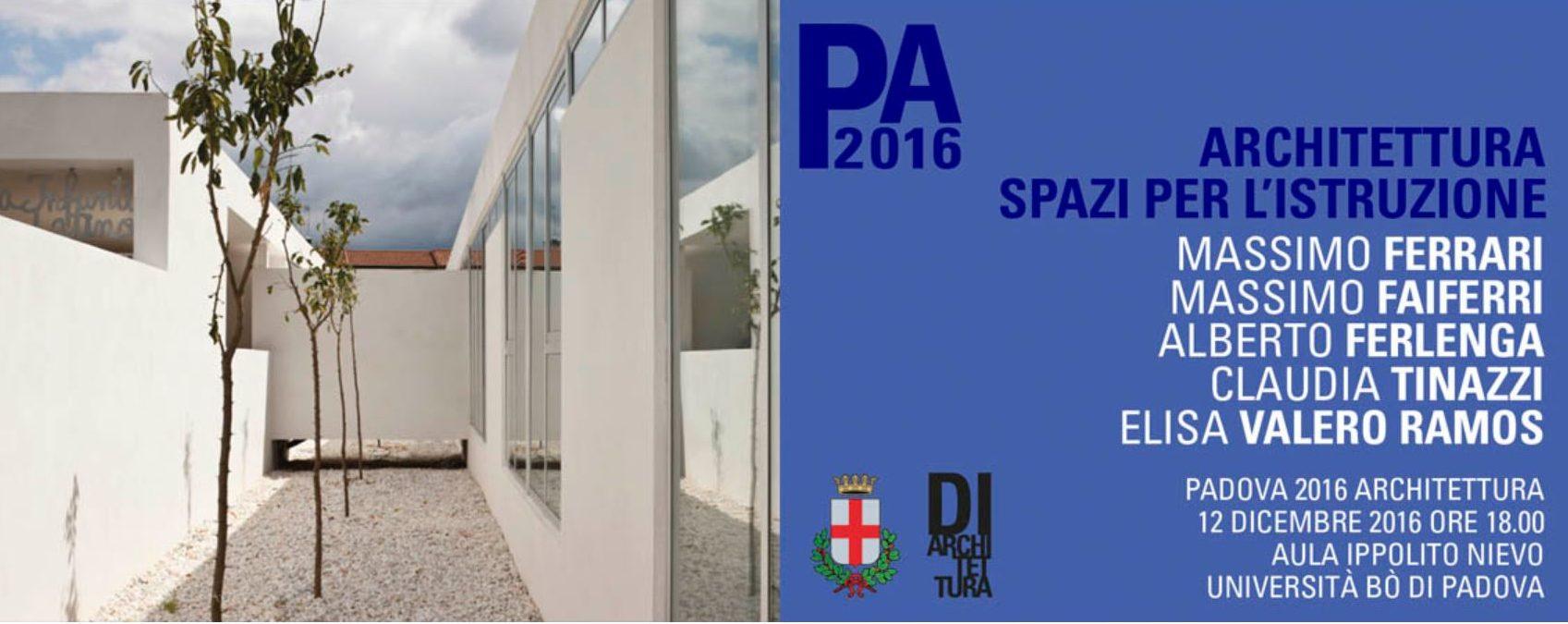 Architettura: Spazi per l'istruzione