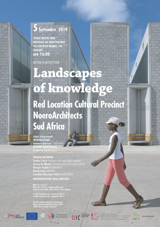 Jo Noero Landscapes  of knowledge