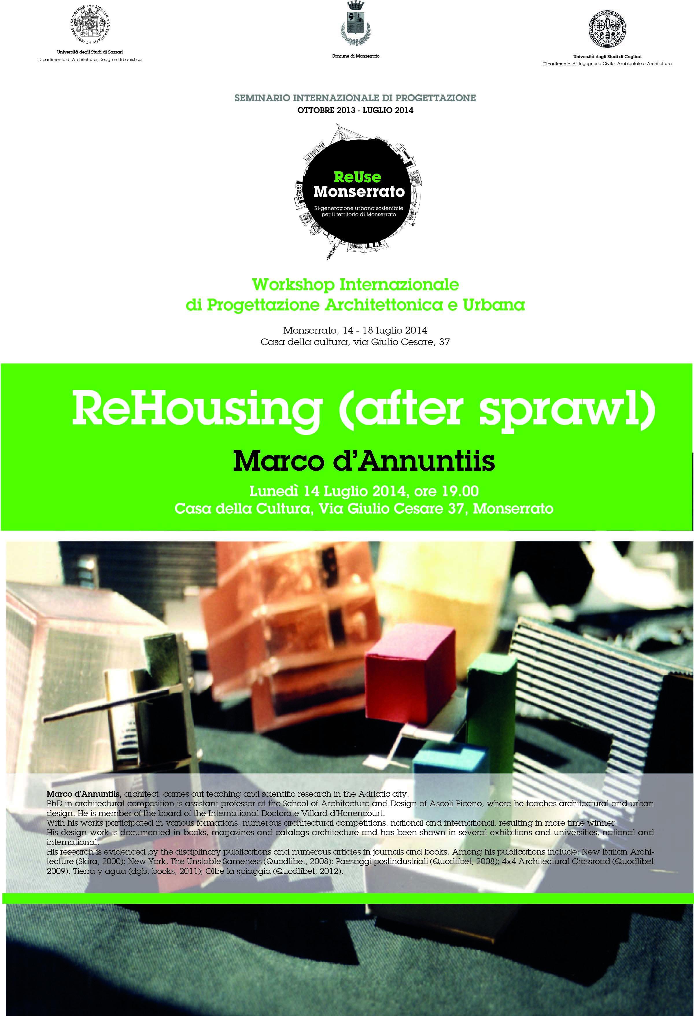 ReHousing (after sprawl)