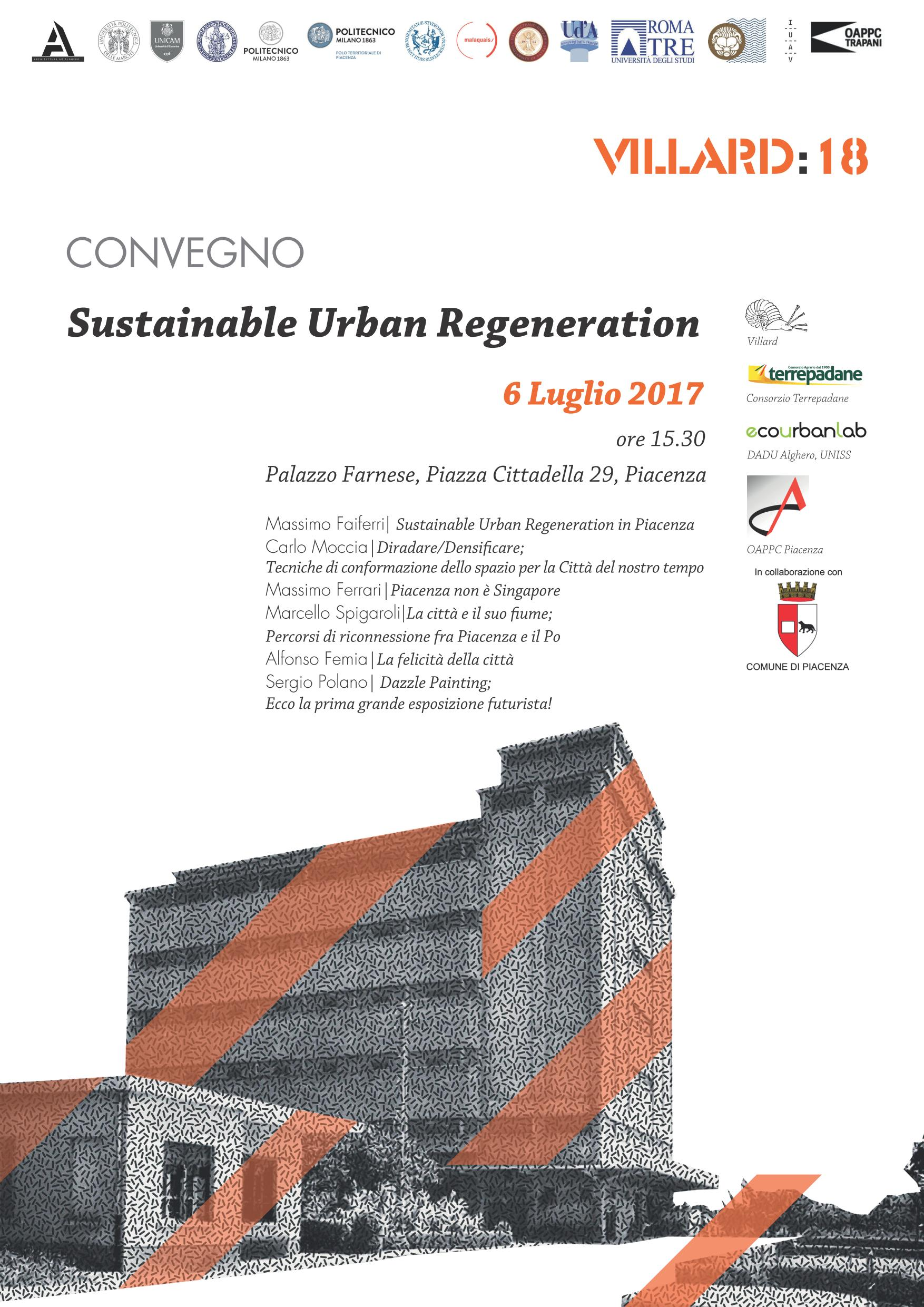 Sustainable Urban Regeneration