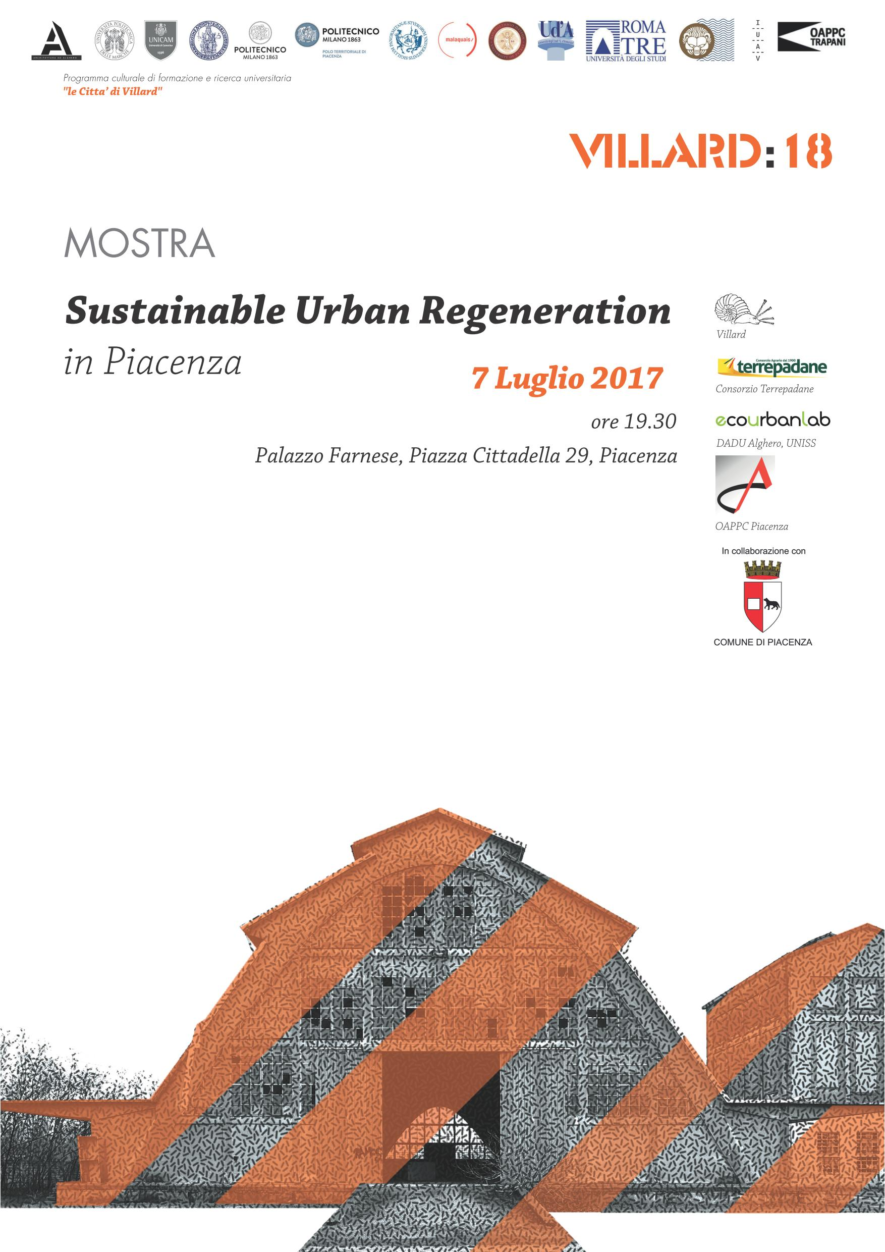 MOSTRA Sustainable Urban Regeneration in Piacenza