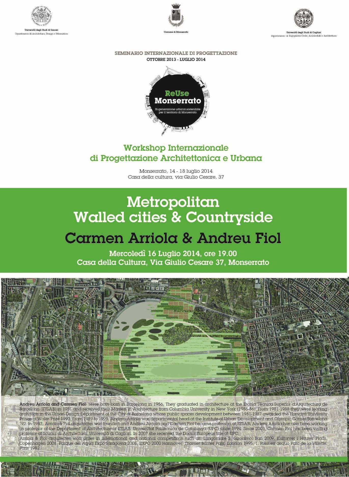 Metropolitan Walled cities & Countryside