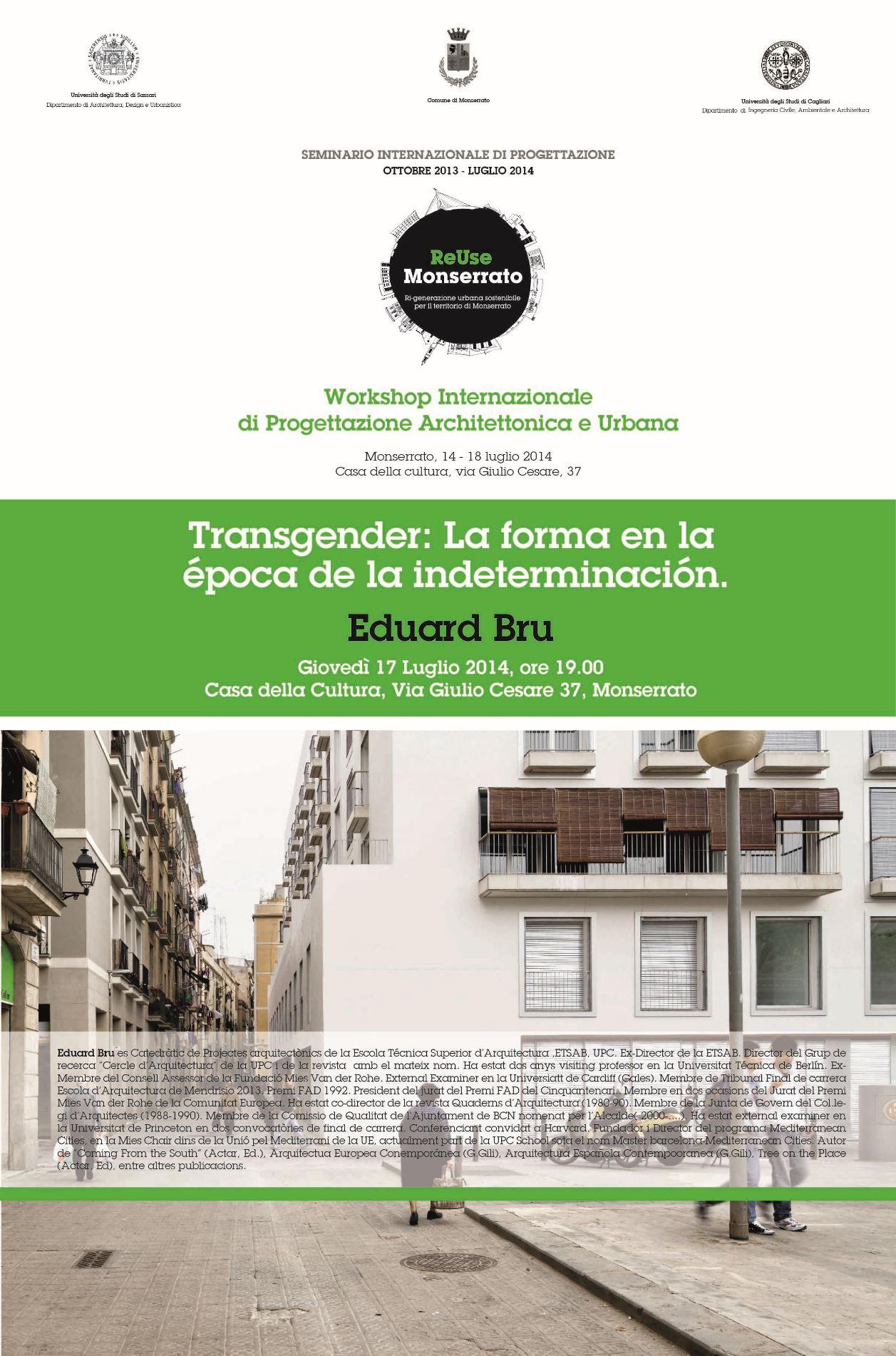 Transgender: La forma en la  época de la indeterminación.
