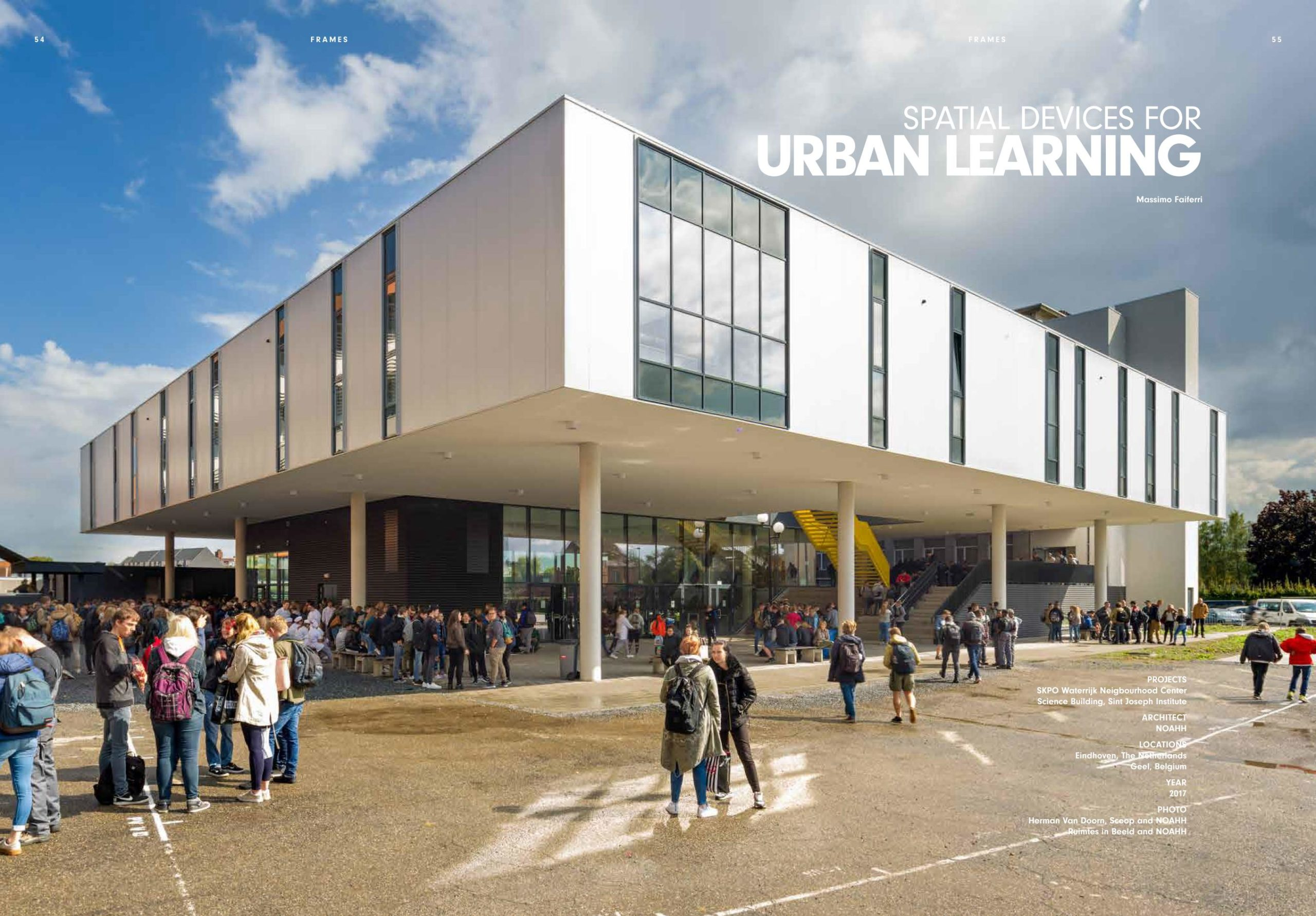 SPATIAL DEVICES FOR URBAN LEARNING