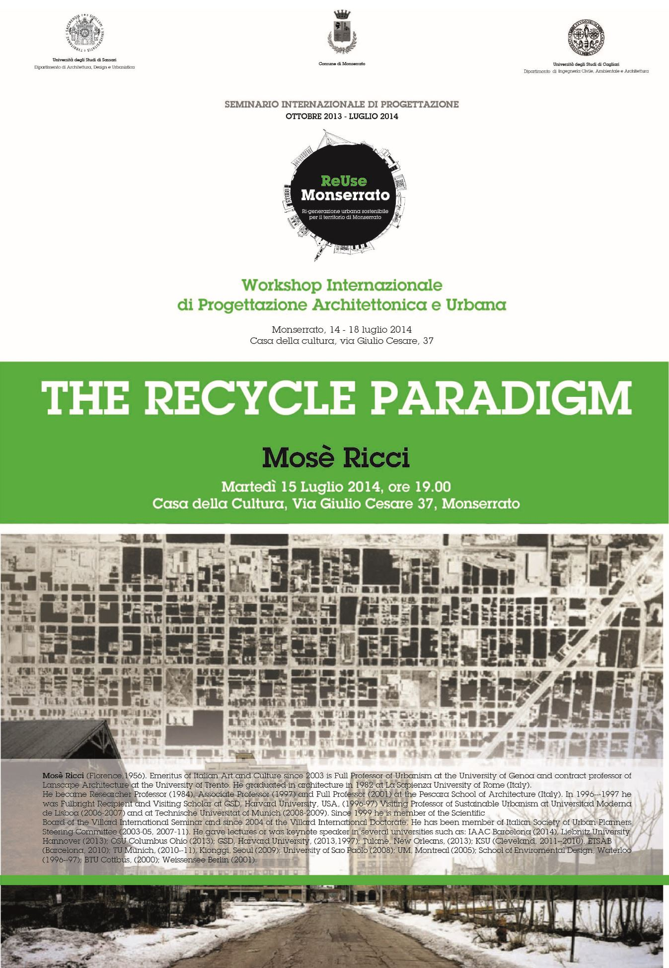 THE RECYCLE PARADIGM