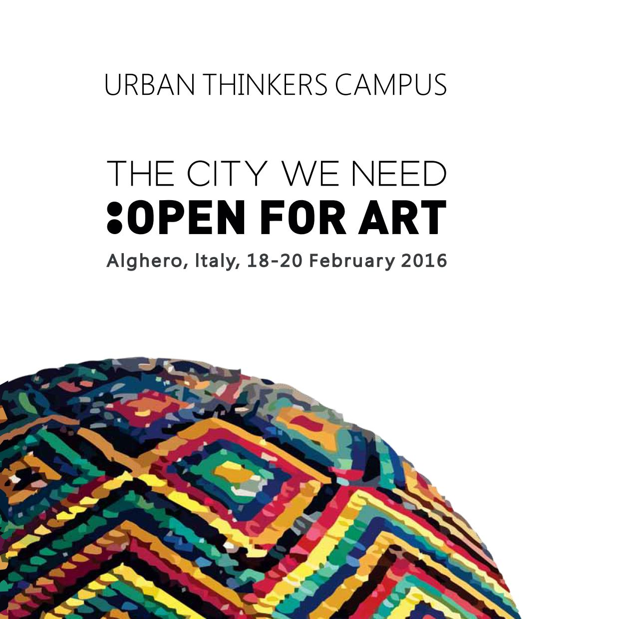 The City We Need: Open for Art